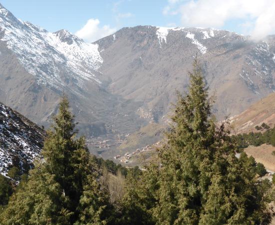 Tizi n' Tamatert, Morocco 2000m