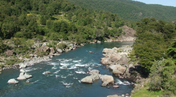 <p>Río Ñuble - San Fabián de Alico valley</p>